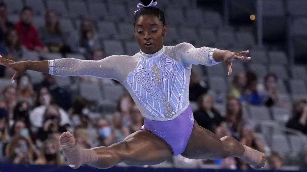 Simone Biles brilliert an US-Meisterschaften
