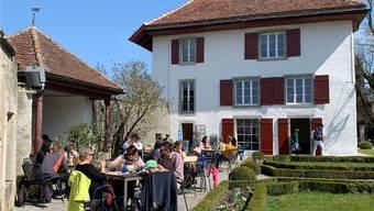 Das neue Bistro auf Schloss Lenzburg erlebte am Eröffnungswochenende einen regelrechten Ansturm. Das prächtige Frühlingswetter dürfte das Seine dazu beigetragen haben.