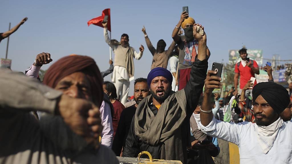 Weitere Bauernproteste in Indien gegen Deregulierung