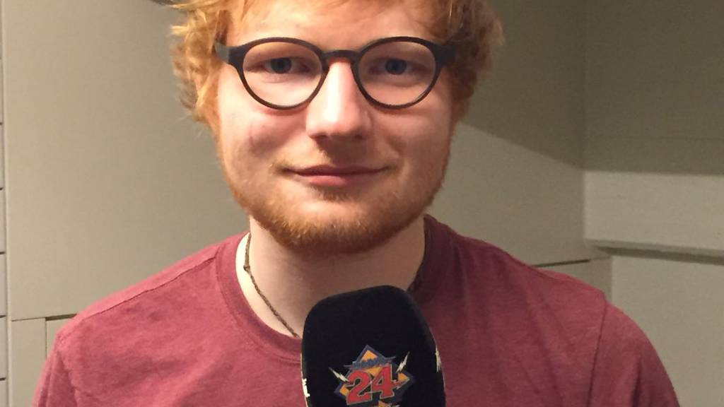 Ed Sheeran im Rolli's Steakhouse