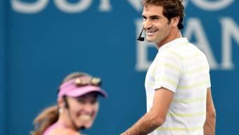Martina Hingis und Roger Federer: Gemeinsamer Auftritt bei Olympia 2016 in Rio
