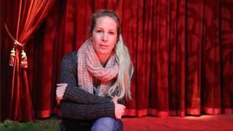 Zirkusdirektorin Alexandra Nock entwirft derzeit im Winterquartier das Programmheft für die anstehende Saison. Archiv/Dennis Kalt