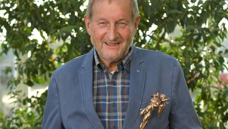 Peter Traub erhielt dieses Jahr den «Chappeli-Tüfel» zugesprochen.