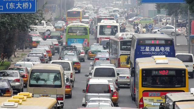Verkehrsüberlastung in Peking (Archiv)