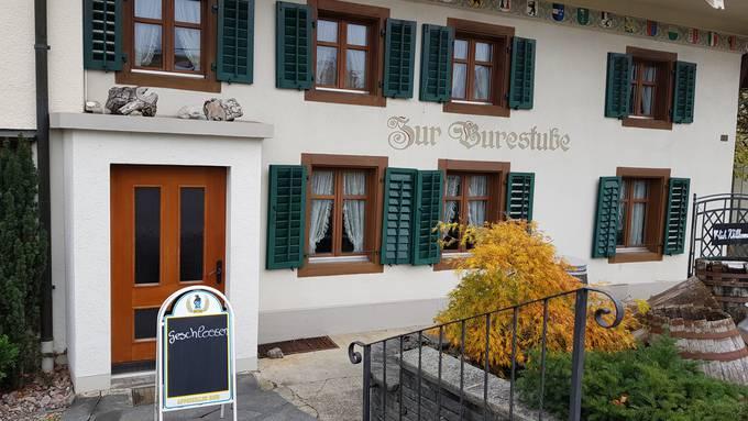 """Restaurant """"Zur Burestube"""" in Buchs ist Konkurs"""