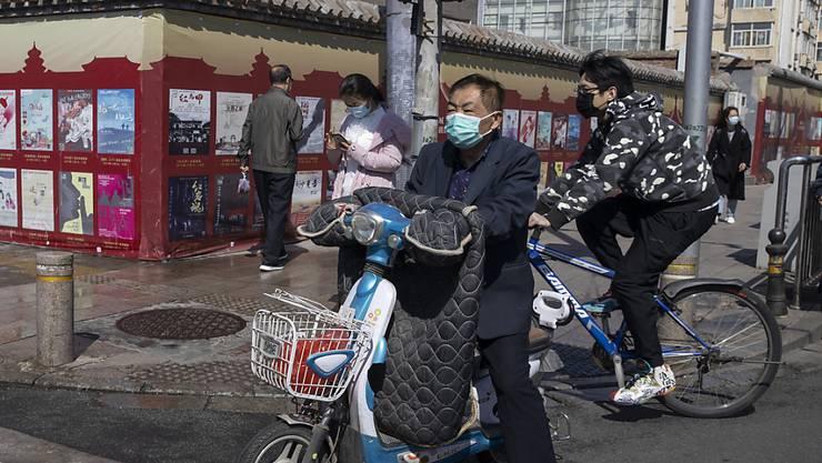 China meldet am Freitag erneut wieder nur eine kleine Zahl von Neuinfektionen mit dem Coronavirus.