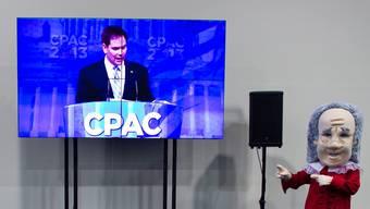 Marco Rubio während seines CPAC-Auftritts. keystone