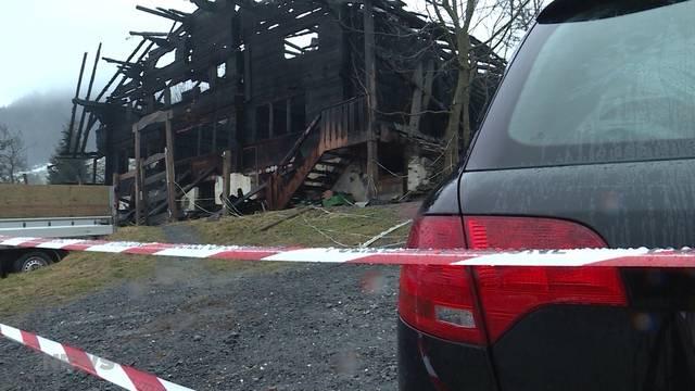 Brandfall Frutigen: Verdächtiger in Frankreich verhaftet