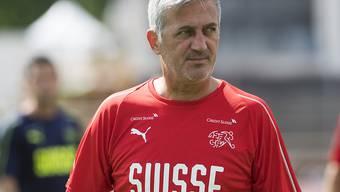 Nationalcoach Vladimir Petkovic gibt im Testspiel gegen Japan auch den Ersatzleuten eine Chance