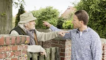 Streit am Gartenzaun. (Symbolbild)