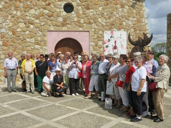 Freiämter Weinfreunde bei Macia Batle Mallorca