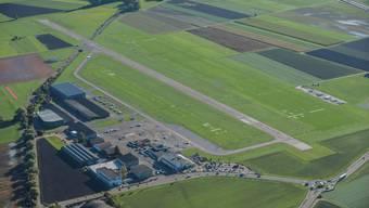 Der Flughafen Grenchen aus der Luft