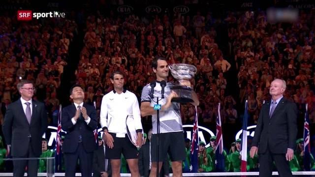 Roger Federer schreibt Geschichte