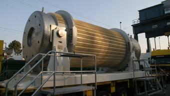 Gibt es weiterhin: Atommüll-Transport ins Zwilag in Würenlingen.
