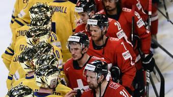 2013 nach dem Final feierten die Schweden in Goldhelmen, während die enttäuschten Schweizer gratulieren mussten. Selbiges Szenario soll sich nicht wiederholen