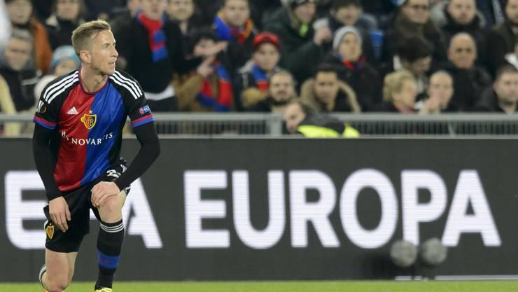 Marc Janko und der FC Basel haben nach dem Hinspiel noch Chancen auf das Viertelfinale.