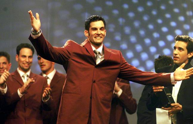 Tobias Rentsch wurde 2001 zum Mister Schweiz gekürt.