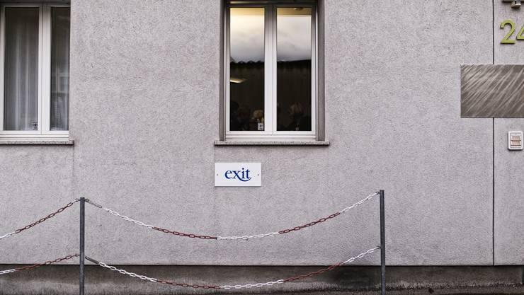 Das Sterbezimmer von Exit in Binningen. (Archiv)