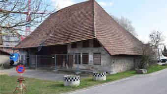 Das Dahlihaus an der Holzgasse ist mit seinen über 450 Jahren das älteste Gebäude im Dorf. mhu