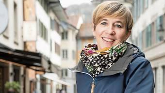 Die abtretende SP-Einwohnerrätin Karin Bächli sagt: «Im Stadtraum ist das Velo das Verkehrsmittel der Zukunft – es braucht ein Velo-Konzept.»