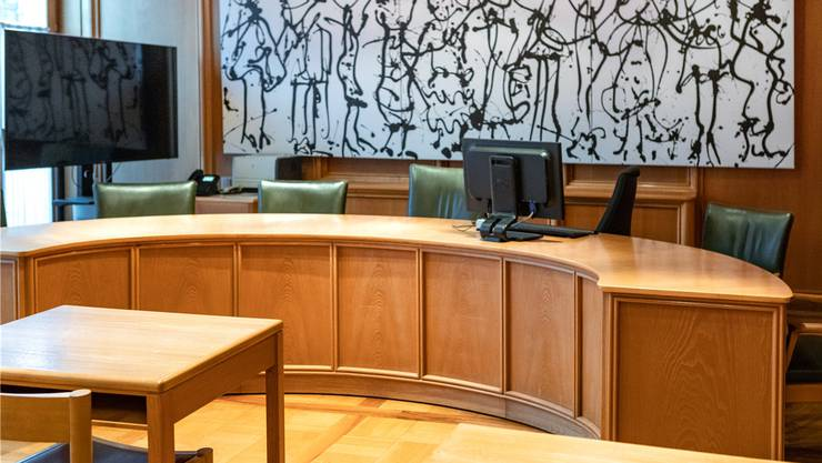 Die ausgeschriebenen Gerichtspräsidiumsstellen wurden in stiller Wahl besetzt. (Symbolbild Bezirksgericht Lenzburg)