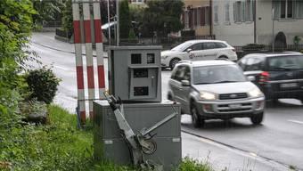 Radaranlage in Büttikon.