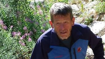 Kurt Hess wollte aus eigener Kraft vom tiefsten zum höchsten Punkt der Schweiz – seine Expedition musste er aber aufgeben.