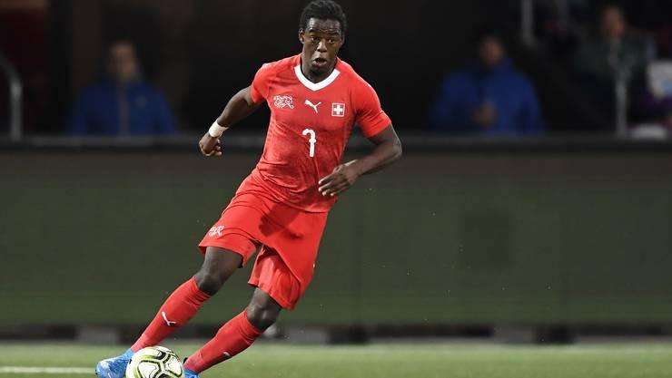 Zeigte im Dress der Schweizer U21-Nationalmannschaft gegen Frankreich eine starke Vorstellung: Jordan Lotomba.