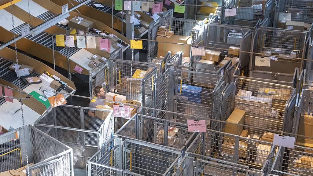Post verarbeitete 148 Millionen Paketen
