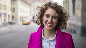 Flavia Kleiner, Co-Präsidentin der «Operation Libero», ist erleichtert nach dem Nein zur Durchsetzungsinitiative.