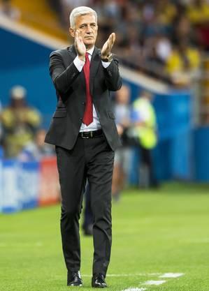 Über seinen Trainer, Vladimir Petkovic, sagt Haris Seferovic: «Er hat mich menschlich geformt.»