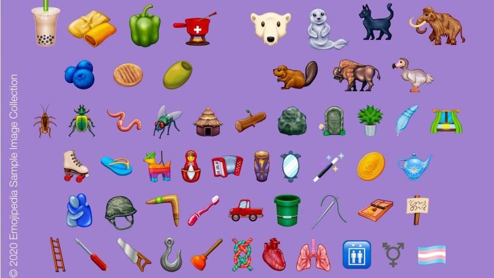 Emojis 2020 Teil 2