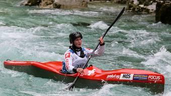 Melanie Mathys gewinnt die Silbermedaille im Sprint.