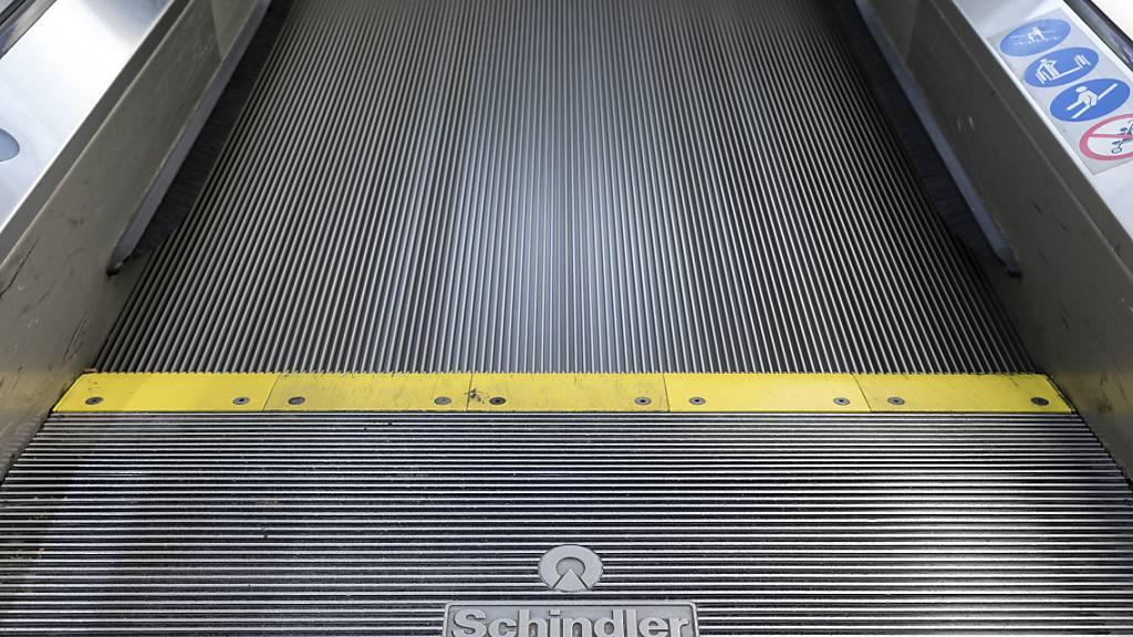 Eine Rolltreppe von Schindler in St. Moritz (Archivbild).