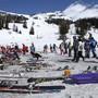 Leichte Beute: Skis werden häufig in Skigebieten gestohlen.