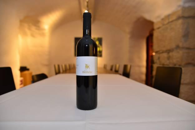 Und das hier ist der passende Wein dazu: Stierebluet, ein Pinot noir von Peter Wehrli aus Küttigen