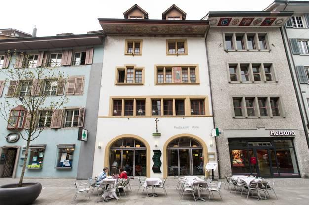 Die Liegenschaft liegt an der Weiten Gasse – Müllerbräu hat sie verkauft.