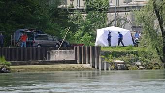 Vermisster Cyrill (2): Ein Kind wurde tot aus Aare beim Wasserkraftwerk Döttingen-Beznau geborgen.