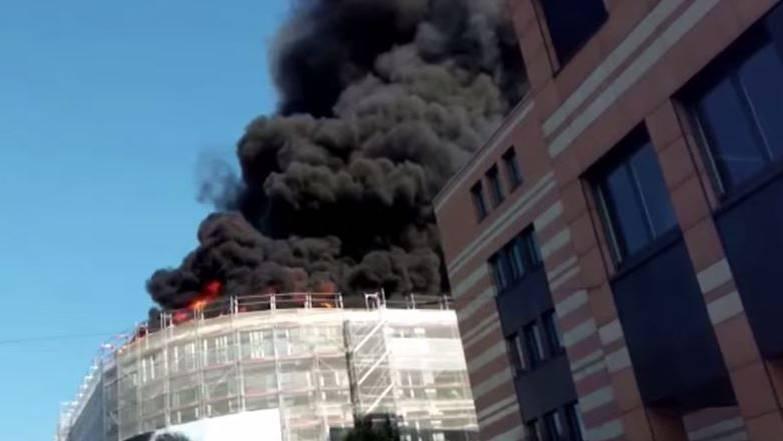 Feuer und Explosionen in Olten