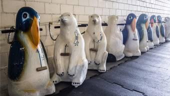 Die Pinguine, an denen sich die Dreikäsehochs beim Eislaufen abstützen, dürfen hoffen: Wenn das Volk auch noch Ja sagt, geht es endlich vorwärts in der Keba.