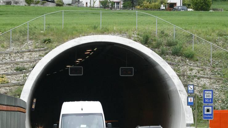 Zu den grössten Baselbieter Infrastrukturvorhaben der letzten Jahre zählt der Chienbergtunnel. Mit 342 Millionen Franken wurde er fast doppelt so teuer wie geplant.