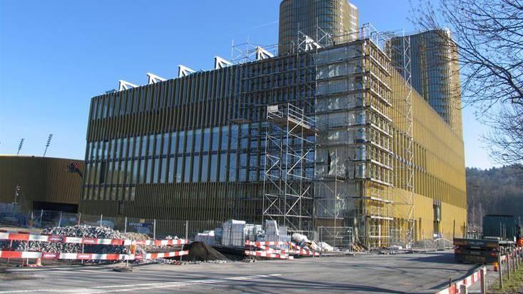 Auf der Allmend Luzern eröffnet bald ein neues Sportgebäude