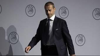 UEFA-Präsident Aleksander Ceferin will 2021 alles so machen, wie es für 2020 geplant war