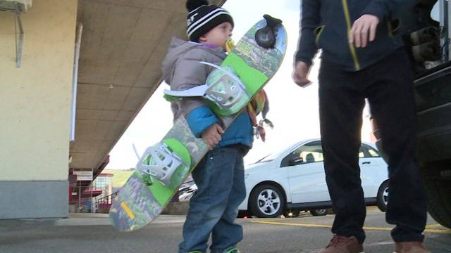 Auslaufmodell Snowboard