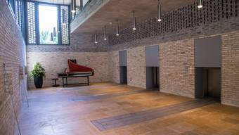 Neues Krematorium auf dem Friedhof Hörnli