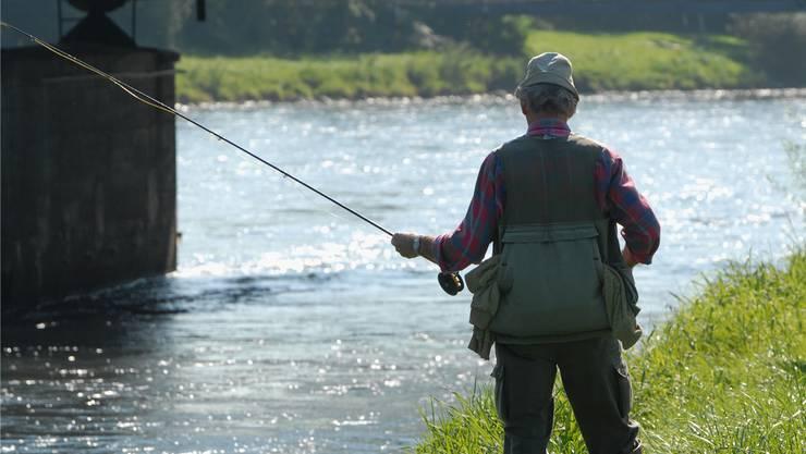 Die Kantonspolizei Bern geht davon aus, dass der Mann im Bereich des Zusammenschlusses der Sense und der Saane am Fischen gewesen war. (Symbolbild)