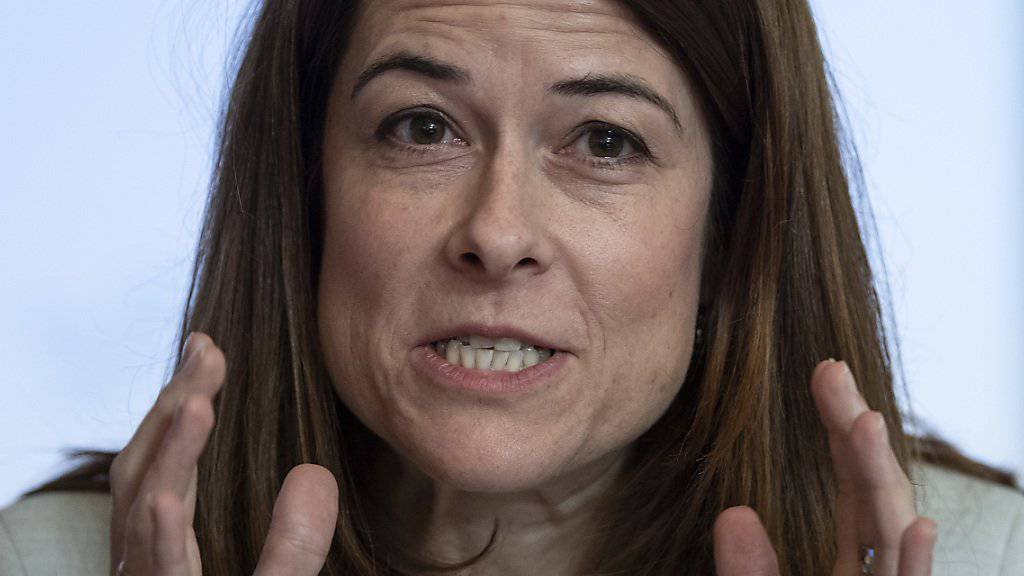 FDP-Parteichefin Petra Gössi zeigte am Freitag auf, was sich die Parteileitung unter liberaler Umweltpolitik vorstellt. Die Delegierten werden über das Positionspapier am 22. Juni befinden.