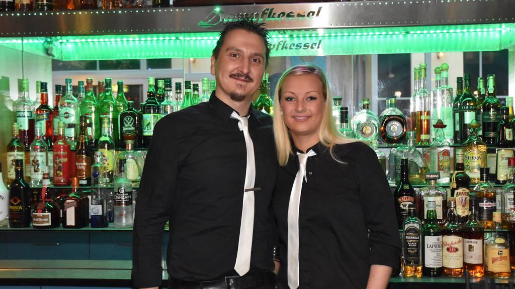 Denis Seyfarth und Susann Esser, die Geschäftsführer vom «Dampfkessel» sind wehmütig.
