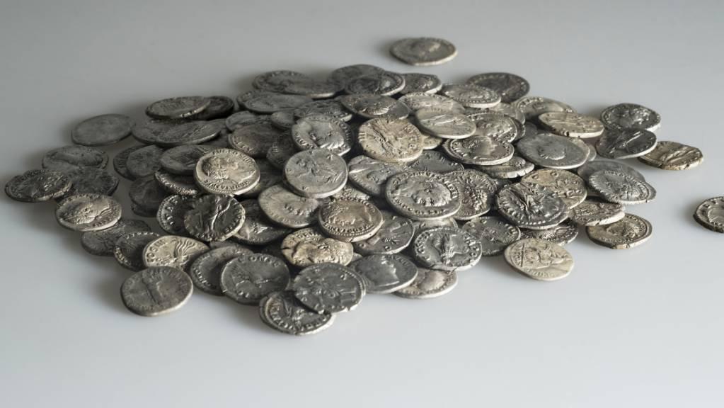Römische Silbermünzen