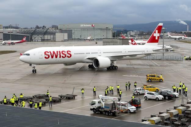 2020 bekommt die Swiss zwei weitere Boeing 777.
